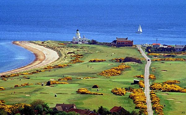 Chanonry Golf Course and Lighthouse