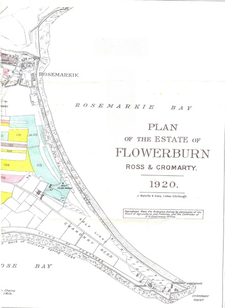 Map of Flowerburn Estate