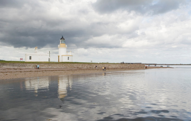 Light house at Chanonry Point