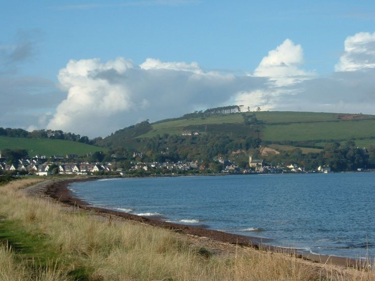 Rosemarkie from the point