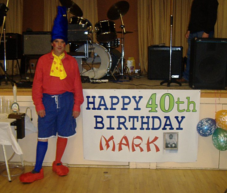 Mark's 40th - Gordon Memorial Hall, Rosemarki