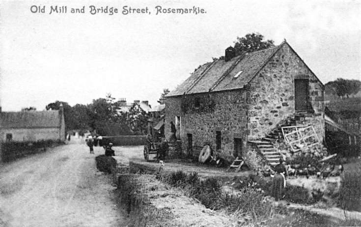 Old Mill and Bridge Street, Rosemarkie