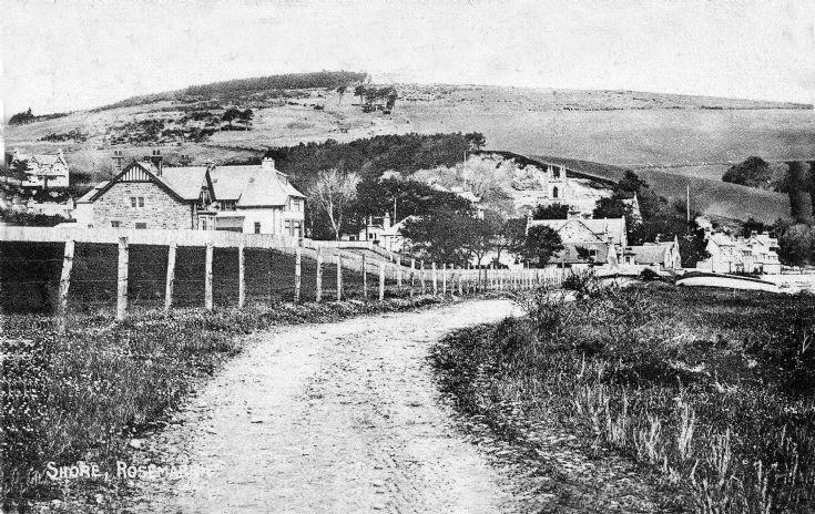 Postcard 1905 The shore Rosemarkie.