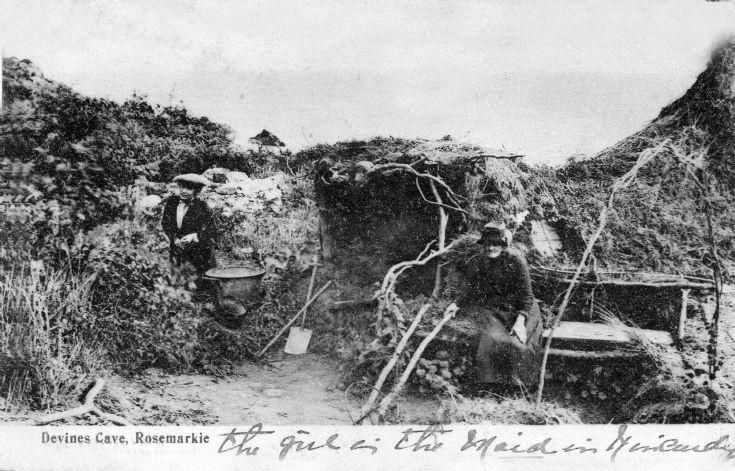 Devines Cave Rosemarkie