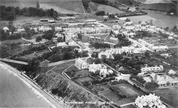 Aerial photo - c1955