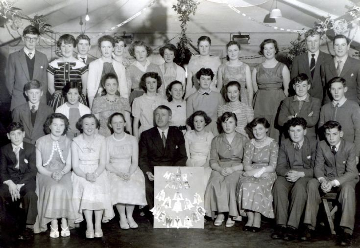 Fortrose Academy.  Christmas party 1958