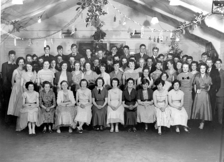 Fortrose Academy. Christmas party  1957/58??