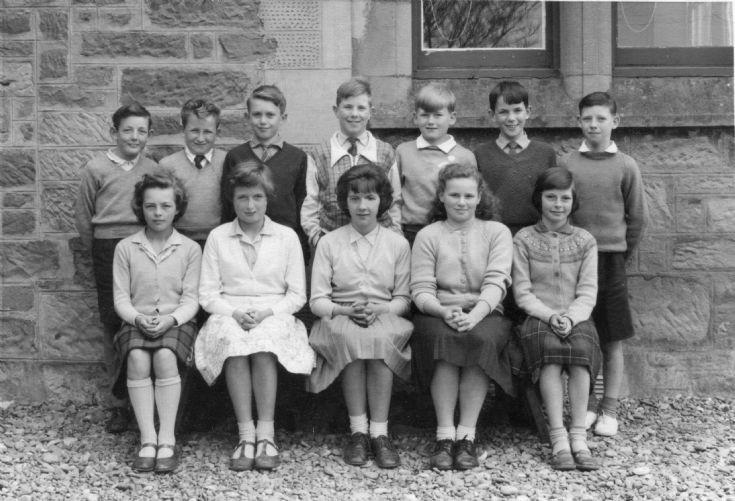 Fortrose Academy circa 1960.