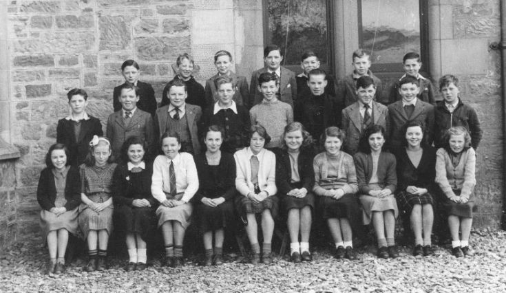 Fortrose Academy c1954