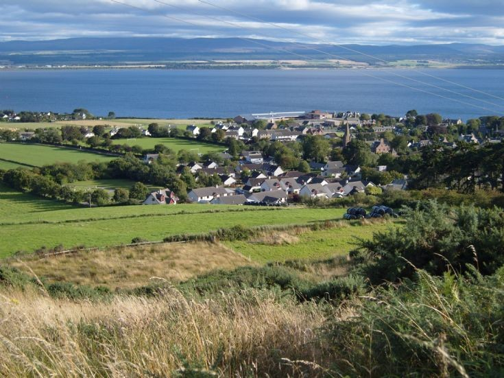 Fortrose from the Wards.