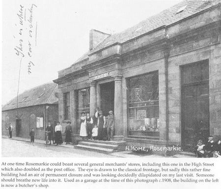 Merchant Store, Rosemarkie