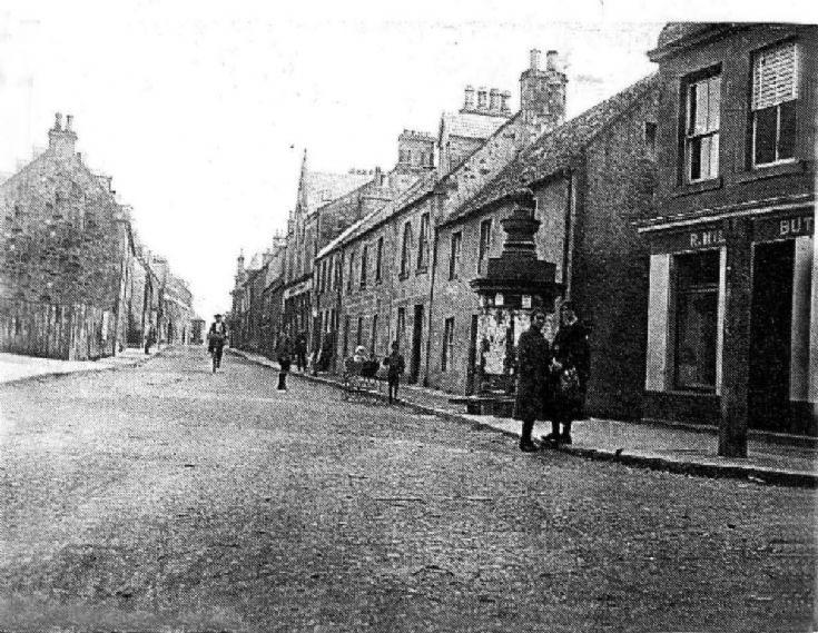 Fortrose High Street c1930