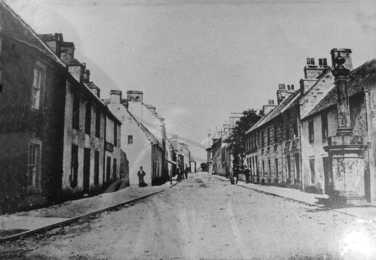 Fortrose High Street  c1900