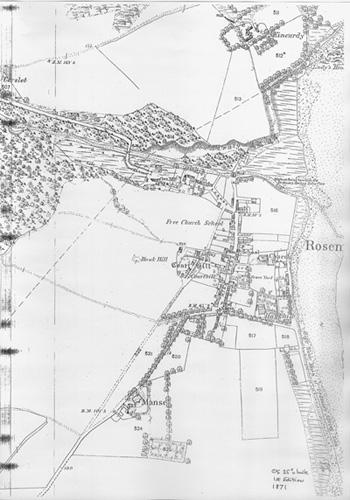 Map of Rosemarkie