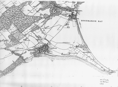 Map of Fortrose & Rosemarkie