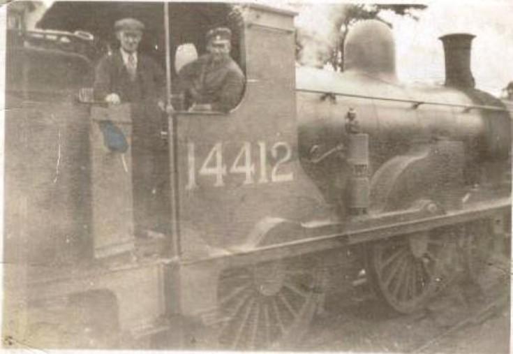 Driver Charlie Taylor and Fireman Jack MacKenzie