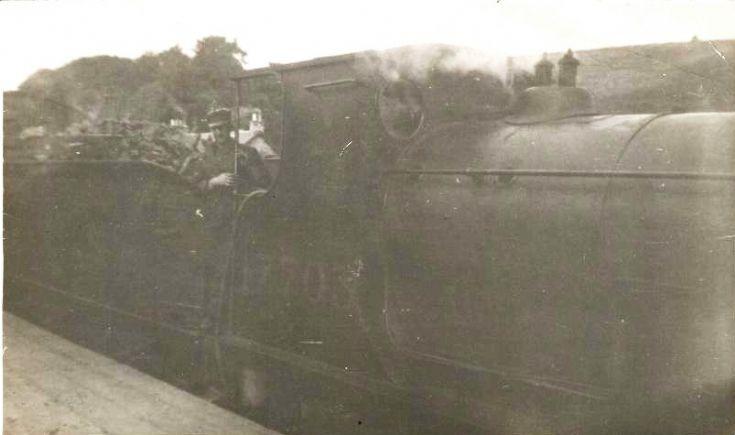 Engine arriving at Fortrose - c1950???