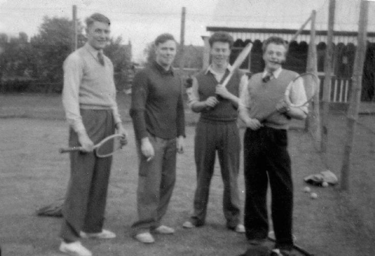Fortrose Tennis Courts 1950s