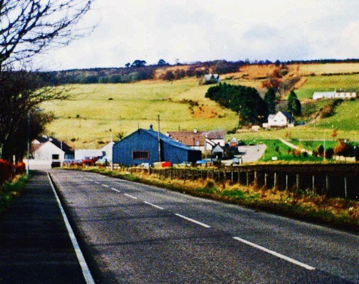 Old Highland Bus Garage.  c1996