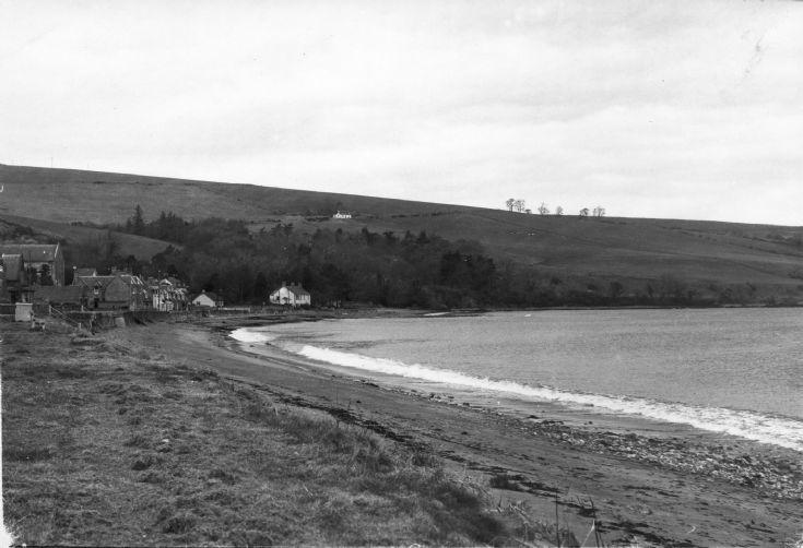 Rosemarkie sea front 1978