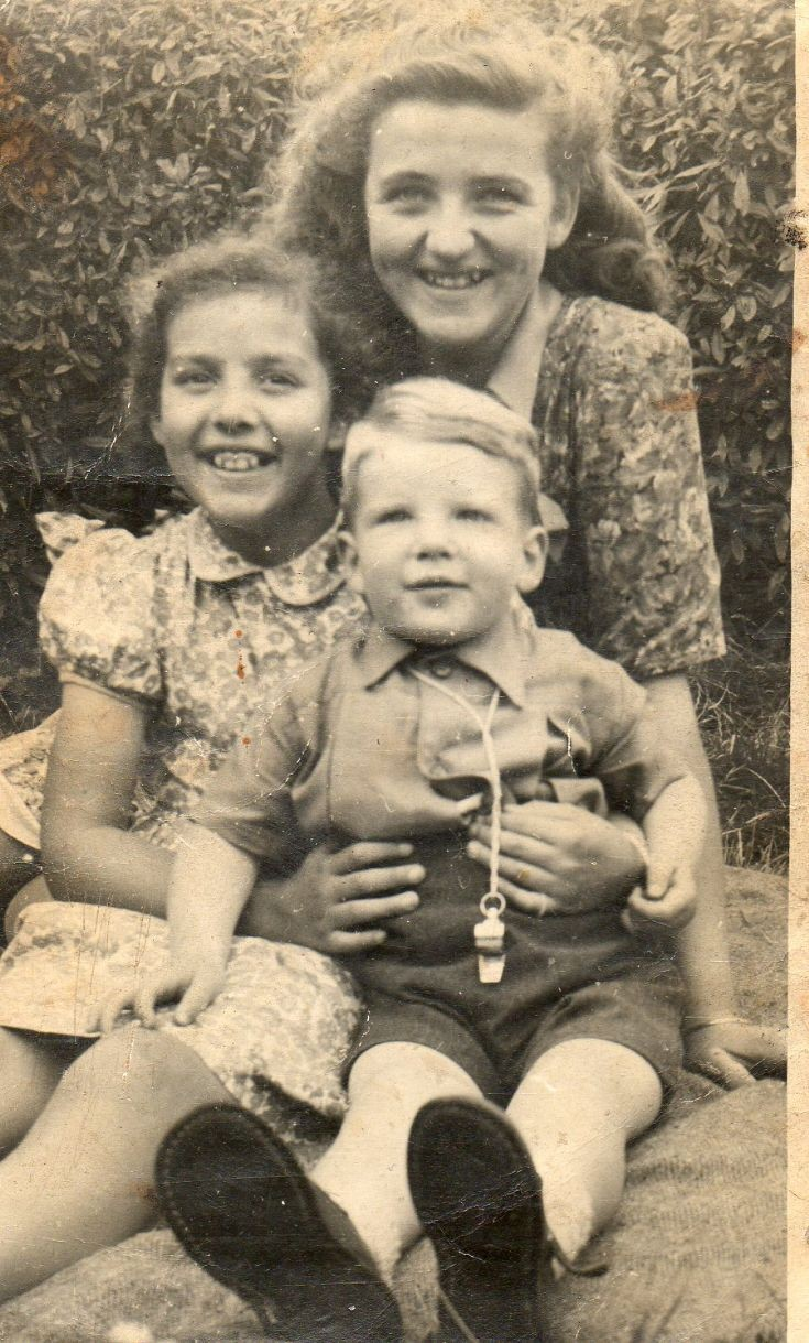 Alice Sutherland, Isobel Grigor and John Reddigan