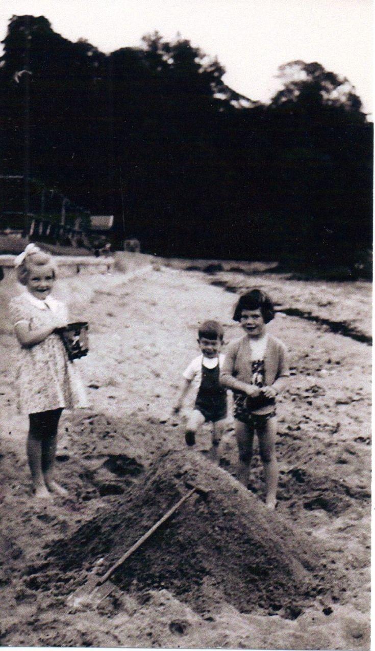 Flora Basham, Neil Forrester & Ann Arnot
