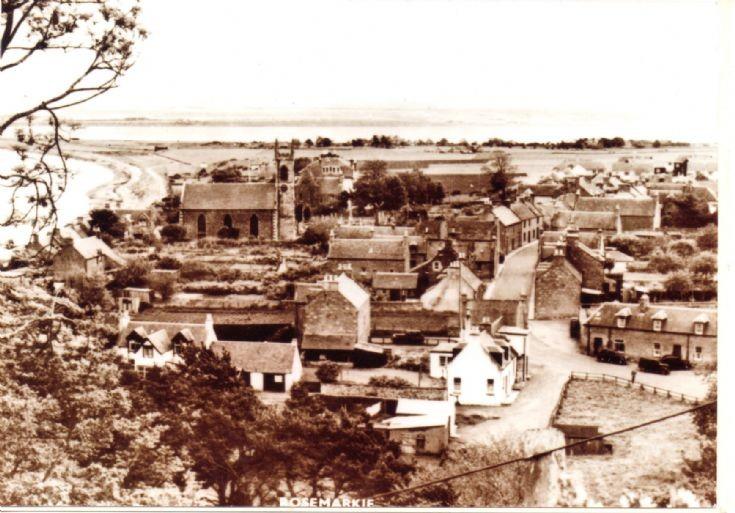 View of Rosemarkie village