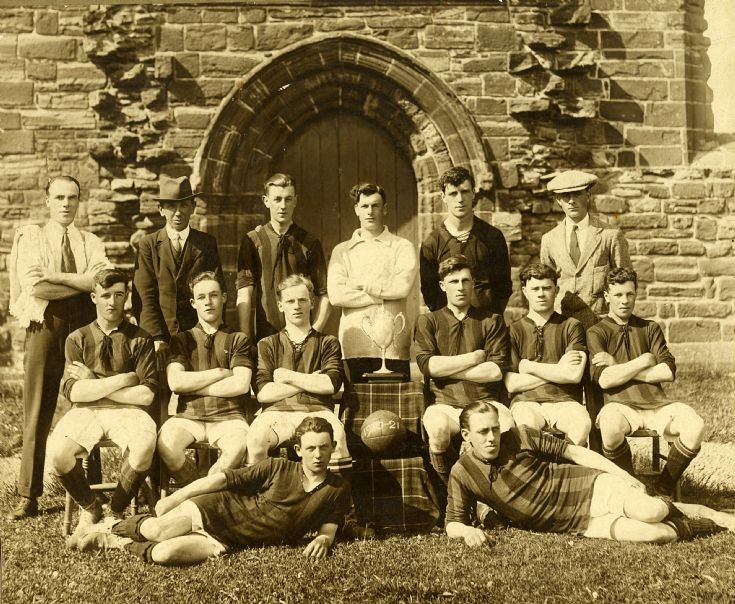Fortrose Union Football Team 1920-21