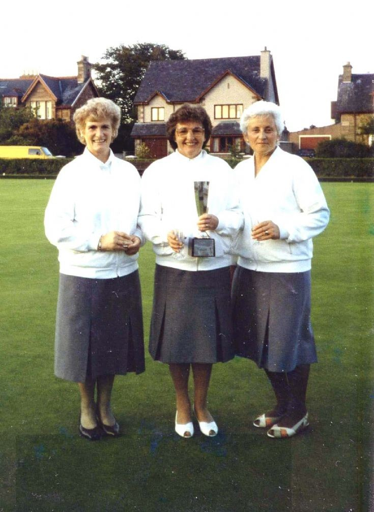 Fortrose Bowling Club group