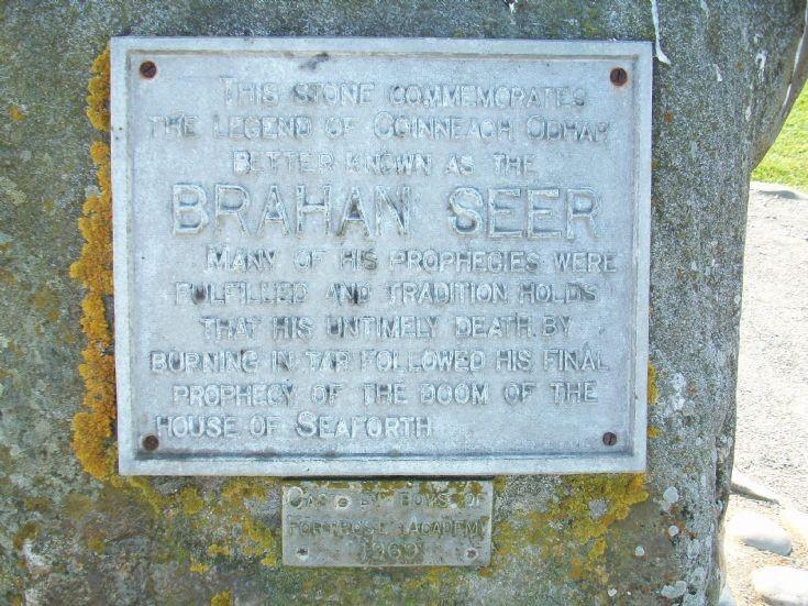 Brahan Seer plaque
