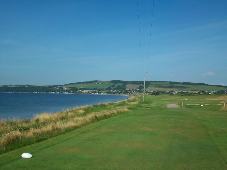 Fortrose from golf course
