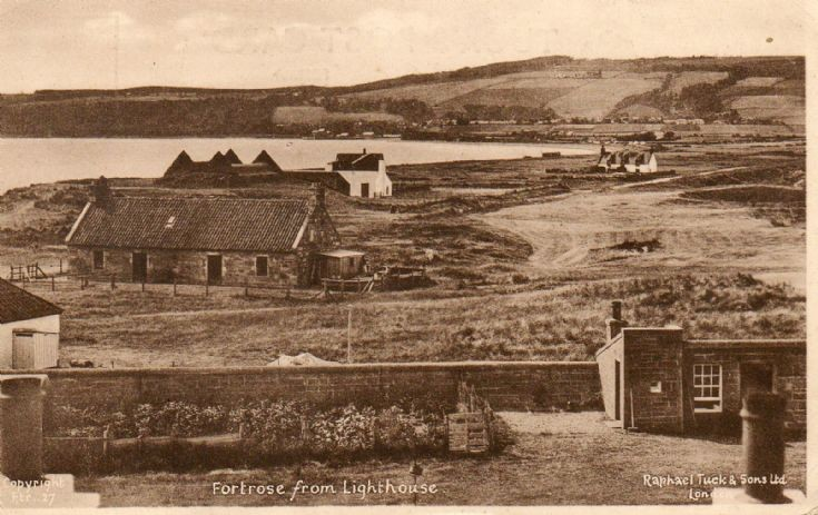 Fortrose from lighthouse