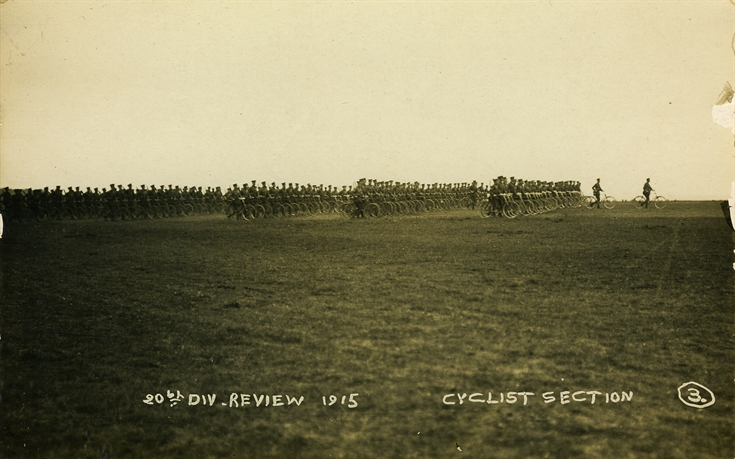 Cyclist Section: 20th Division Review