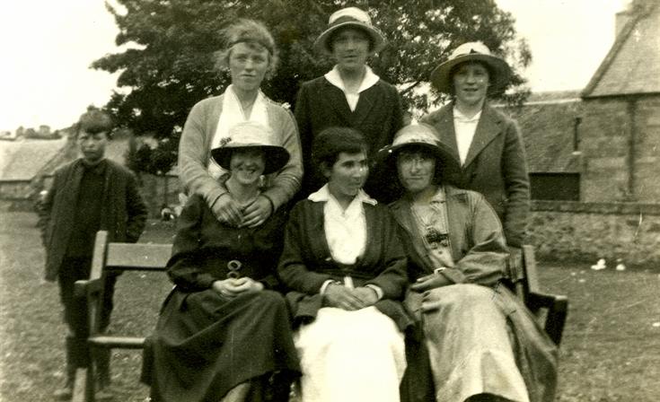 Group of six ladies