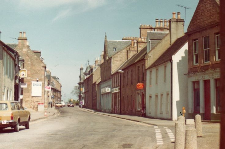 Fortrose High Street mid 1970's