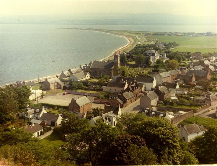 Rosemarkie from Craig c. 1960