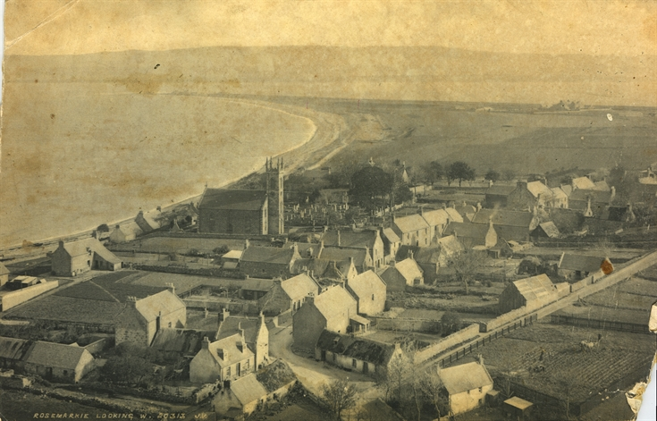 Rosemarkie from Sand Cliffs c.1896