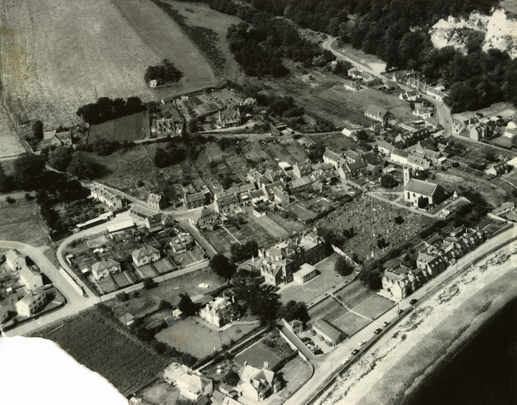 Rosemarkie from the air 1960-64