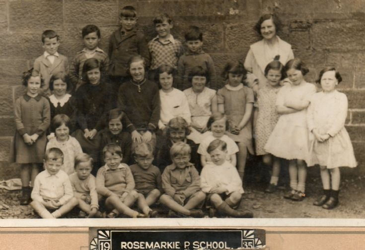Rosemarkie Primary School Group 1935