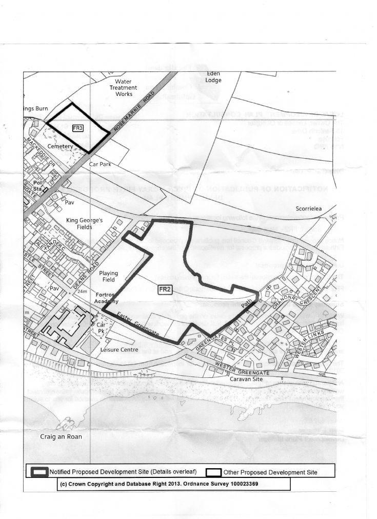 Fortrose Proposed Development