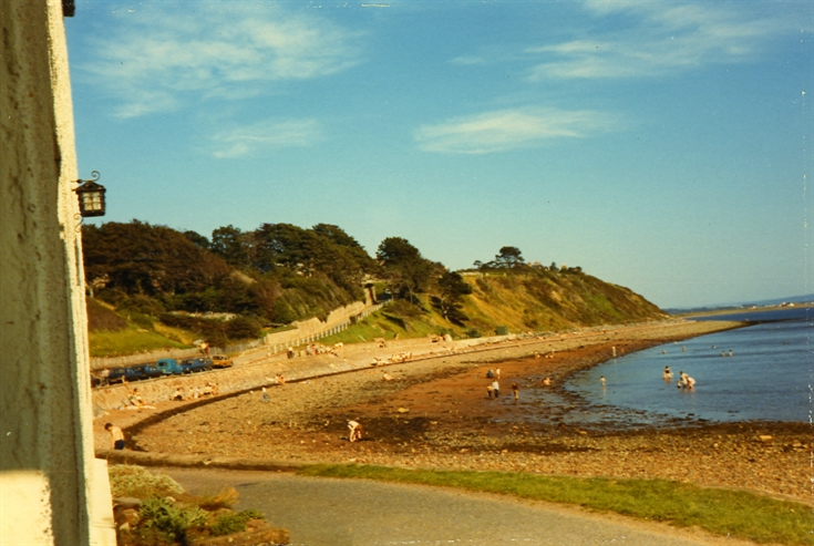 Fortrose beach from the harbour