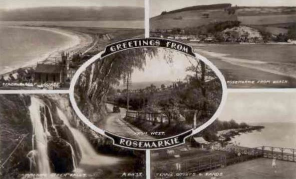 Greetings from Rosemarkie