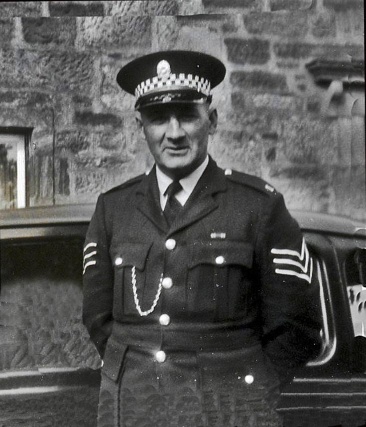 Sgt. Mackenzie Fortrose Police Station. 1950s/60s