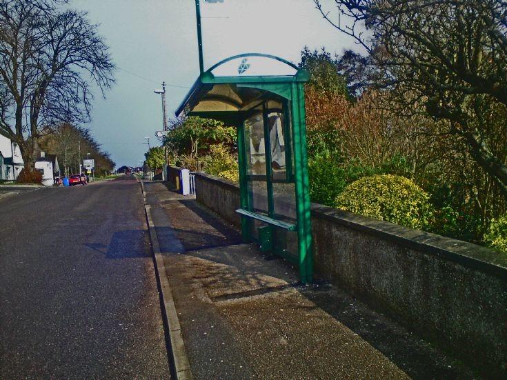 New Bus Shelter, Fortrose