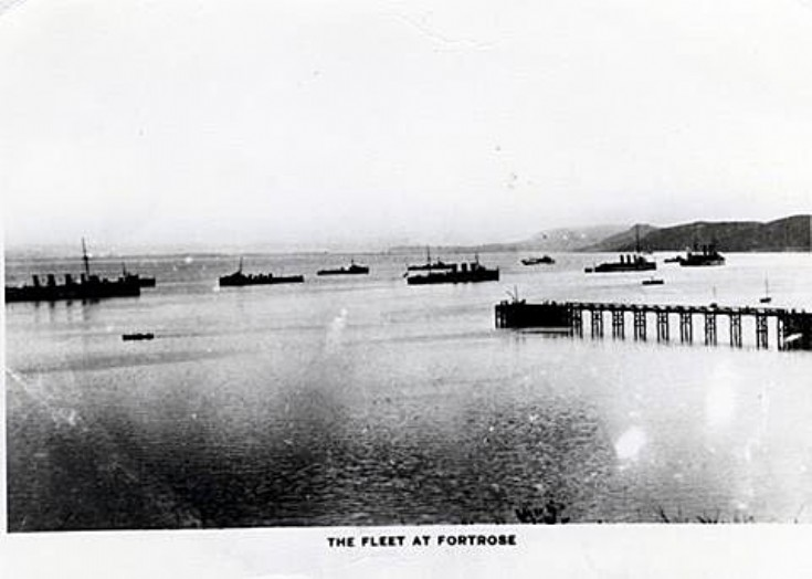The fleet at Fortrose