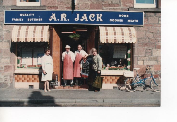 A R Jack, Butchers shop