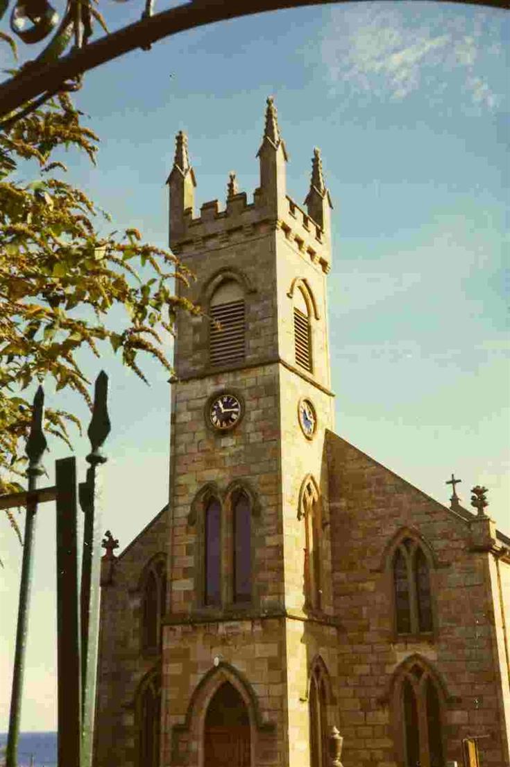 Rosemarkie Church tower