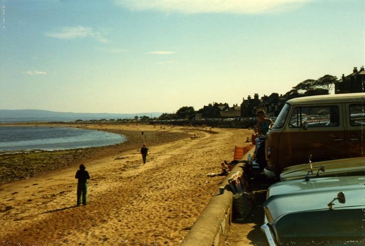 Rosemarkie Beach c.1973