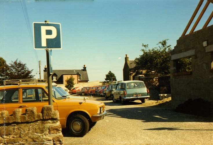 High Street/Mill Road Car Park, Rosemarkie c.1973
