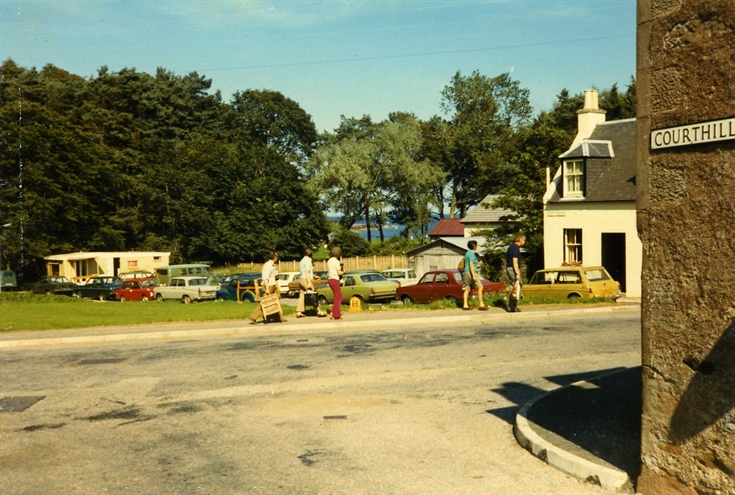 Parking in Well Road, Rosemarkie c.1973